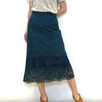 【PASSIONE/パシオーネ】レースタイトスカート