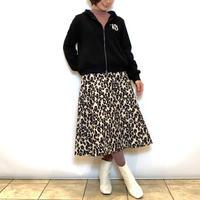 【BEATRICE/ベアトリス】レオパード柄フレアースカート