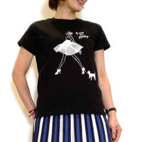 【Nouque/ヌーク】バレリーナTシャツ