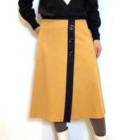 【Nouque/ヌーク】ラップデザイン台形スカート