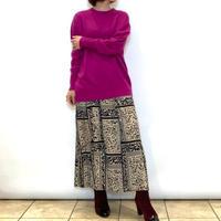【Atelier six/アトリエシックス】プリーツロングスカート