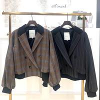 【BEATRICE/ベアトリス】ツイード調ショートジャケット