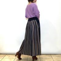 【BEATRICE/ベアトリス】バックプリーツのマキシスカート