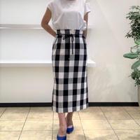 【Brahmin/ブラーミン】ギンガムチェックタイトスカート