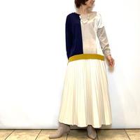 【BEATRICE/ベアトリス】フェイクレザープリーツスカート