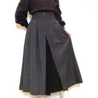 【COOMB/クーム】フロントプリーツ切り替えスカート
