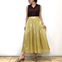 【dolly-sean/ドリーシーン】キラキラサテンギャザースカート