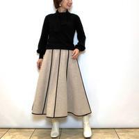 【Mia Asterism/ミーアアステリズム】パイピングウールスカート