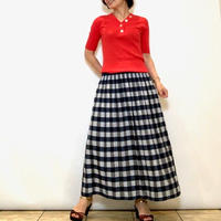 【FIGNO/フィグノ】リバーシブルのフレアースカート