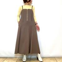 【Coomb/クーム】フレアジャンパースカート