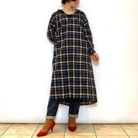 【BEATRICE/ベアトリス】チェックフーディーワンピース