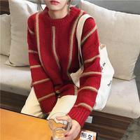 stripe loose knit