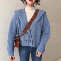 knit sailer cardigan