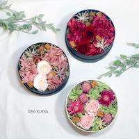 [Flower Box/S]カラー3種/プリザーブドフラワー
