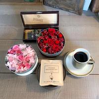 [Flower & Coffee SET]BoxM+メッセージドリップバック2種8個
