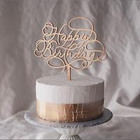 ケーキトッパー  -HAPPY BIRTHDAY-