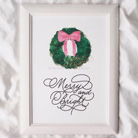 POSTER -MERRY & BRIGHT-