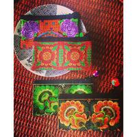 民族刺繍ポーチ