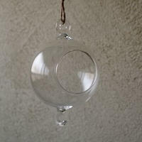 ガラスハンギングボール 小 単品
