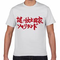 【送料無料】謎の独立国家ソマリランドTシャツ(白色/ S・M・L・XL)