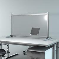 オフィス・デスクパーテション連結可能タイプA1200