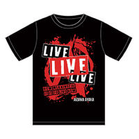 「LIVE×3」Tシャツ