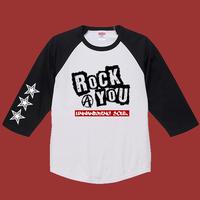 Rock You ラグランT-shirt