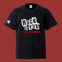 Rock You T-shirt(ブラック)