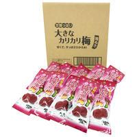 甘酸っぱい大きなカリカリ梅種ぬき3個×10袋