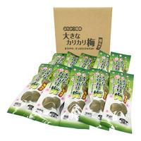 はちみつ風味大きなカリカリ梅種ぬき3個×10袋