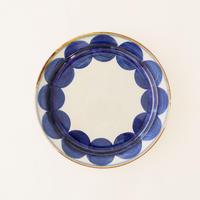 藍ブルー 240プレート 丸紋