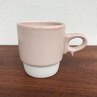 スタックスマグ 磁器 ピンク