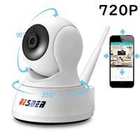 ホームセキュリティ カメラ 双方向 ワイヤレス 遠隔カメラ BESDER 「 720P 」 32GB microSDカード付 ベビーモニター 見守りカメラ