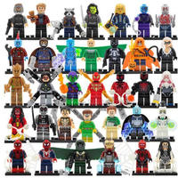 レゴ(LEGO) 互換 アベンジャーズ 34体セット Ver.3