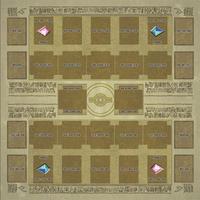 遊戯王 カードゲーム用 マット エジプト壁画 60㎝ × 60㎝ 召喚 プレイマット