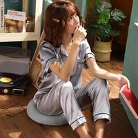 レディース シルク パジャマ 半袖 オシャレ 快眠 寝巻き 部屋着 Ver.6