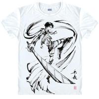 進撃の巨人 Tシャツ 半袖 インナーシャツ カジュアル 男女兼用 Ver.2
