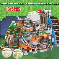レゴ(LEGO)互換 マインクラフト LEGO 山の洞窟 ミニフィグ16体セット