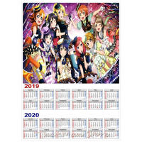 <2020年版> ラブライブ カレンダー A3サイズ キャラクター 2019年~2020年 42×30㎝ ポスター