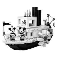 レゴ(LEGO) 互換 アイデア 蒸気船ウィリー 21317