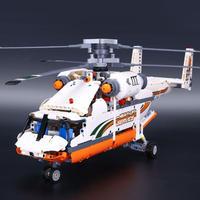 レゴ(LEGO) 互換 テクニック ヘビーリフト ヘリコプター 42052