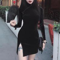 チャイナ 服 ドレス ワンピース 華ロリ 中華 ミニ ワンピ かわいい ゴスロリ コスプレ 衣装 セクシー