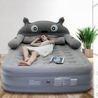 となりのトトロ ベッド 寝具 200㎝ × 120㎝ キャラクター エアーベッド 厚め シングル