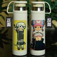 ワンピース ステンレスボトル カップ付き 魔法瓶 水筒 500mml トラガルファー・ロー & チョッパー ONE PIECE