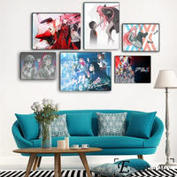 ダーリン・イン・ザ・フランキス ポスター ウォールアート 20×30センチメートル キャンパス 装飾
