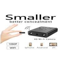 ミニカメラ WIFI ワイヤレス HD 1080p バッテリー ナイトビジョン 小型カメラ iphone Android 防犯用 ビジネス 会議にも