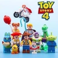 レゴ(LEGO) 互換 トイストーリー 4  ☆ 9体セット バイク付き