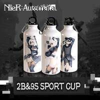 NieR:Automata / ニーアオートマタ ウォーターボトル 600mml