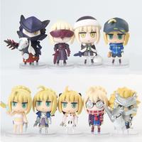 Fate/stay night Fate/Grand Order セイバー ミニフィギュア PVC 8センチメートル