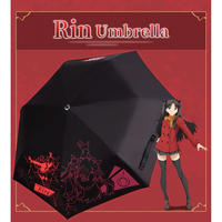 Fate/staynight 遠坂凛 折りたたみ傘